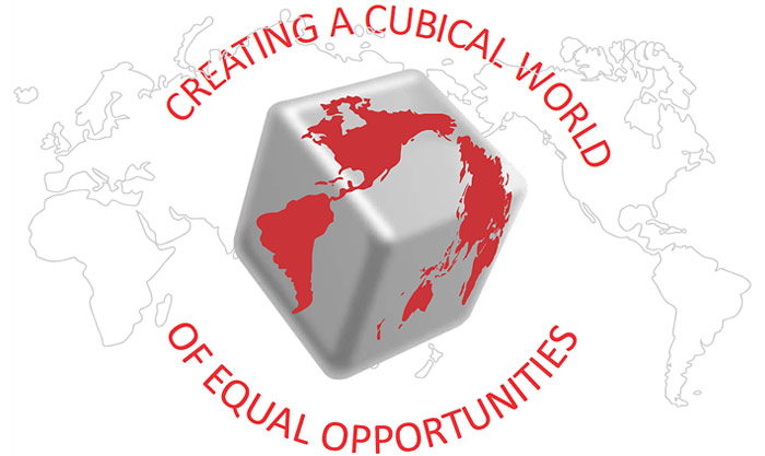 Creating a Cubical World of Equal Opportunities